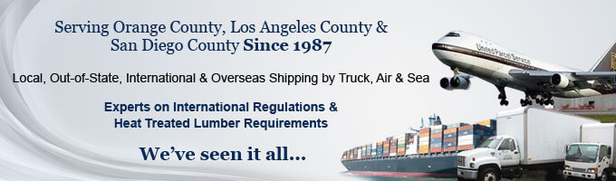 Shipping Services Orange, LA, San Diego County